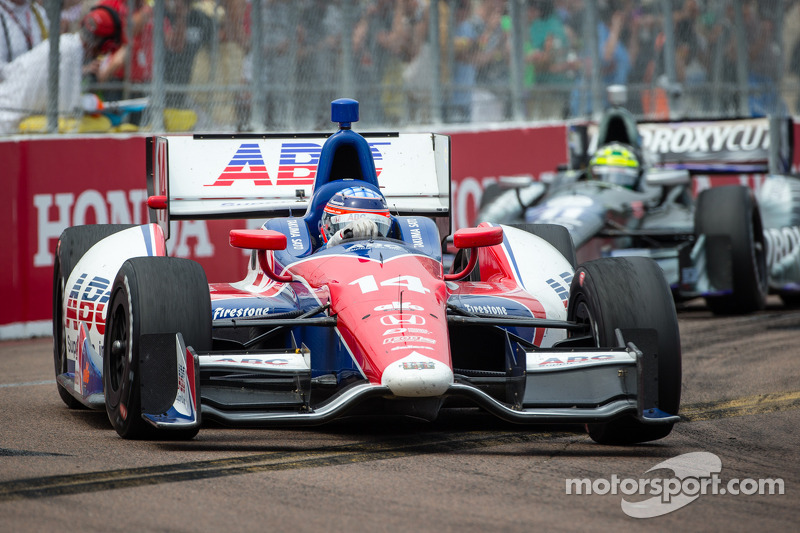 Good debut for Sato in A.J. Foyt at St. Pete