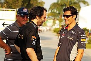 Formula 1 Commentary Mateschitz supports Webber - father