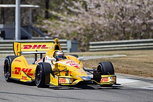 IndyCar Qualifying report Hunter-Reay's first pole of 2013 at Barber Motorsport Park
