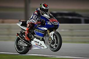 MotoGP Qualifying report Bridgestone: Lorenzo leads under lights in Qatar qualifying