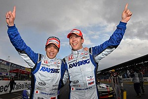 Super GT Race report Izawa and Kogure victorious in a dramatic battle in Okayama