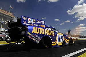 NHRA Race report Second straight first-round loss doesn't faze Capps