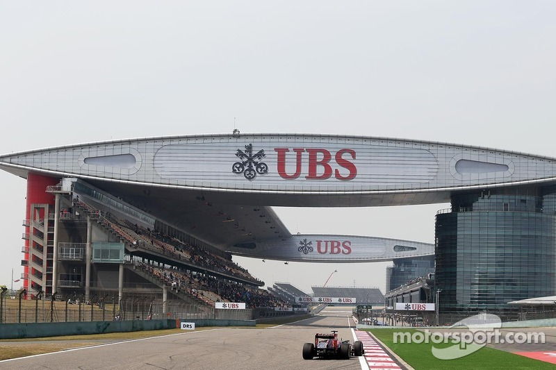 A trouble free Friday practice for Toro Rosso in Shanghai