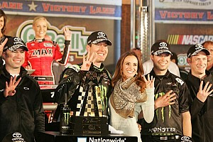 NASCAR XFINITY Race report Kyle Busch claims victory for JGR in Texas 300