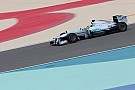 Neither Mercedes drivers achieved a satisfactory balance on Friday in Bahrain