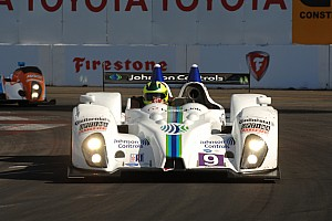 ALMS Qualifying report Sofronas takes last-minute pole at Long Beach