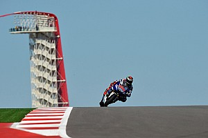 MotoGP Qualifying report Lorenzo secures front row in challenging Austin qualifying
