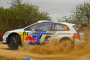 WRC Leg report Advantage Ogier on Thursday in Rally Argentina