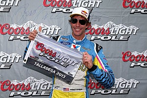 NASCAR XFINITY Qualifying report Pastrana grabs his first career pole at Talladega