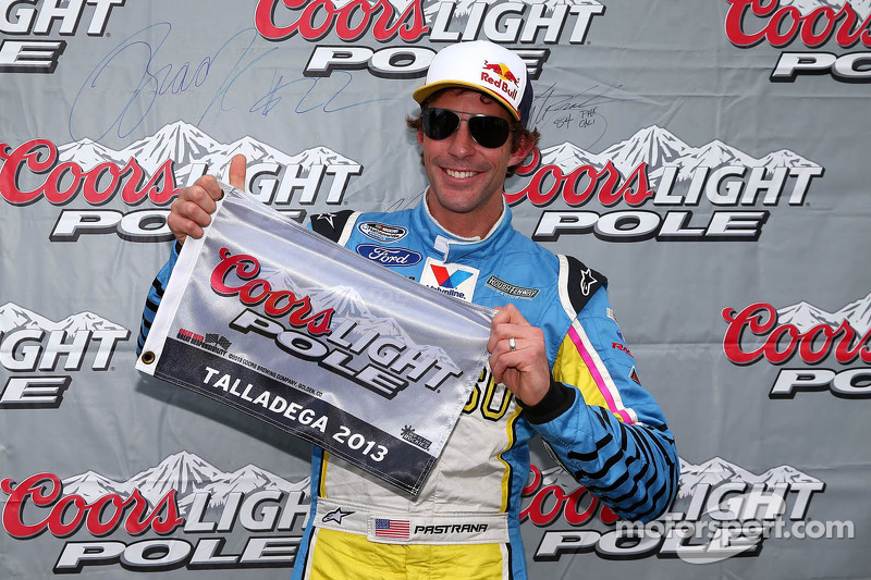 Pastrana grabs his first career pole at Talladega