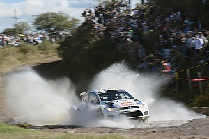 WRC Leg report Volkswagen drivers in second and fourth place after day 2 of Rally Argentina