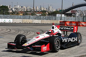 IndyCar Qualifying report Untimely red flag hampers team Penske qualifying results in Sao Paulo