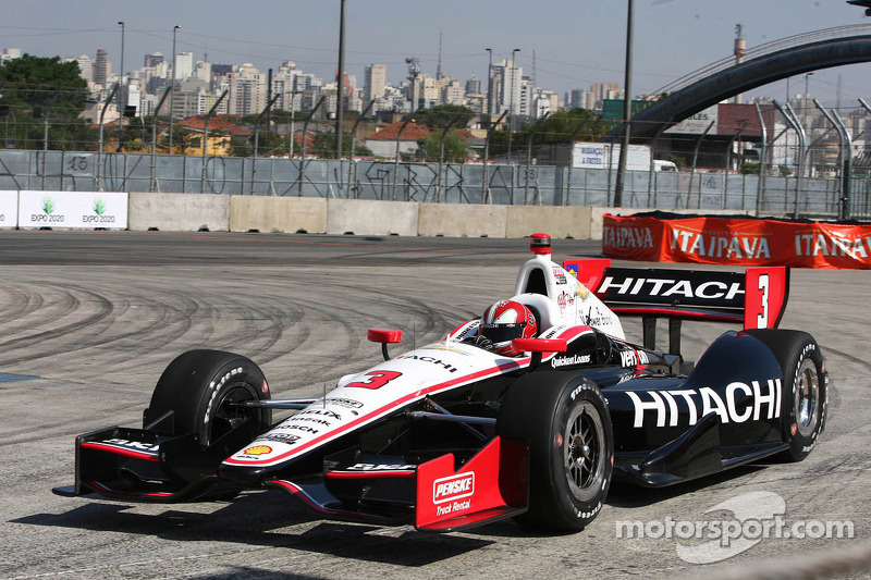 Untimely red flag hampers team Penske qualifying results in Sao Paulo