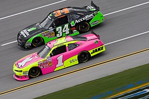 NASCAR Cup Race report Late-race accident ends Patrick's long day at Talladega
