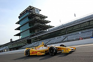 IndyCar Breaking news NASCAR champion Kurt Busch completes Indianapolis 500 rookie test