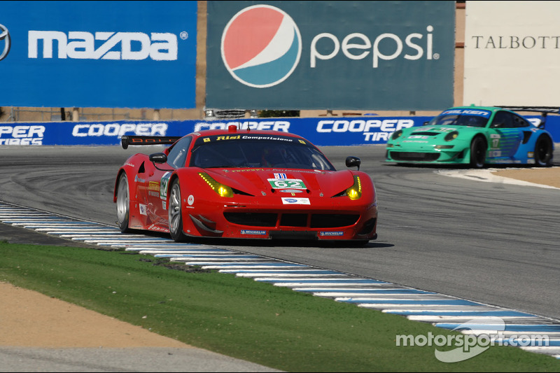 Malucelli claims GT pole in his first ALMS qualifying session at Laguna Seca