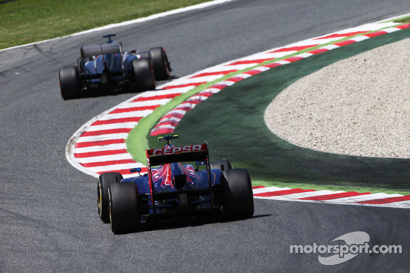 Points for the team Toro Rosso by Ricciardo at Spain