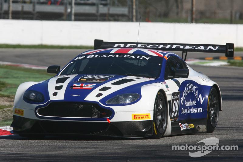 Beechdean S Jonny Adam Signs For Aston Martin Racing Works