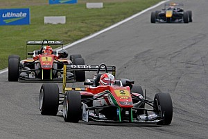 F3 Europe Race report First victory to Lynn on Race 1 at Brands