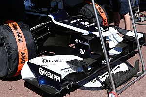 Formula 1 Breaking news Williams reverts to 2012 nose, wing in Monaco