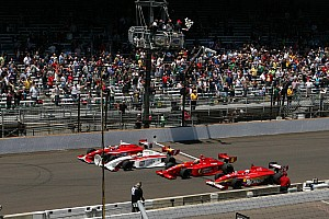Indy Lights Race report Peter Dempsey Wins Firestone Freedom 100 at Indianapolis Motor Speedway