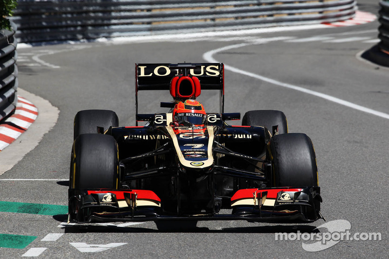 Difficult qualifying day for Lotus in Monte Carlo