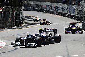 Formula 1 Race report Bottas drove a solid race and Maldonado crashed in Monaco GP