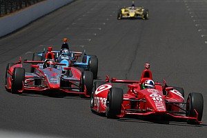 IndyCar Race report Dixon 14th, Franchitti 23rd in the 97th running of the Indianapolis 500