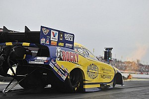 NHRA Qualifying report Millican, Hagan, Edwards and Johnson lead Friday qualifying in Englishtown