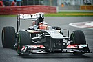 Neither Sauber driver finished the race on Canadian GP