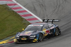 DTM Qualifying report Grid position three for Audi at the Lausitzring