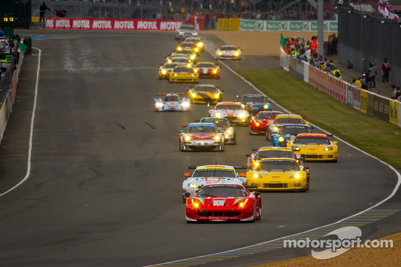 MOTUL strengthens visibility at Le Mans with sponsored grandstand!