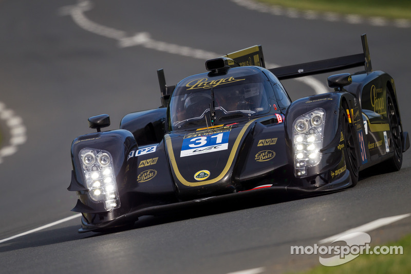 Lotus Praga LMP2 second day at the 24 Hours of Le Mans