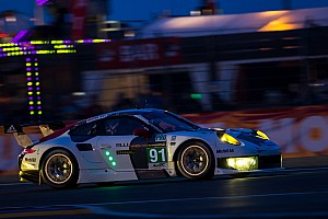 Le Mans Breaking news Porsche teams amongst frontrunners in both Le Mans 24 GT classes