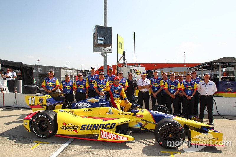 KVRT's Kanaan qualifies eighth for the Iowa Corn Indy 250