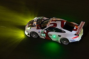 Le Mans Race report Porsche celebrates 50th year of 911 with 100th career Le Mans class victory