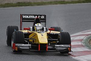 GP2 Qualifying report Marcus Ericsson grabs Silverstone pole