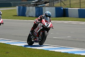 World Superbike Race report Eighth and tenth for Badovini in today's SBK races at Imola