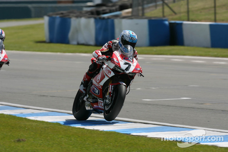 Eighth and tenth for Badovini in today's SBK races at Imola