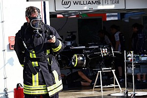 Formula 1 Breaking news Smoke in Williams F1 Team garage - official statement
