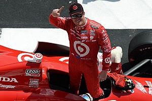 IndyCar Race report Dixon scores upset victory at Pocono