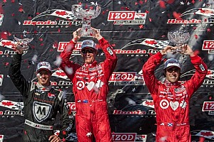 IndyCar Breaking news Dixon ends up the victor in Race 1 of Toronto's doubleheader