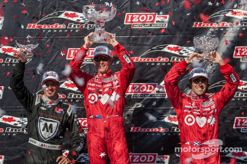 Dixon ends up the victor in Race 1 of Toronto's doubleheader