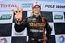 Jordan Taylor leads Daytona Prototype qualifying at the Brickyard