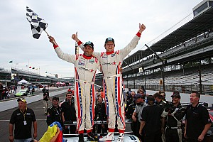 Grand-Am Race report Starworks earns repeat victory in Brickyard Grand Prix
