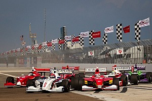 Indy Lights Breaking news First step toward enhancing the current Indy Lights chassis for 2014