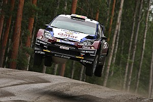 WRC Leg report Flying start for Qatar M-Sport in Finland