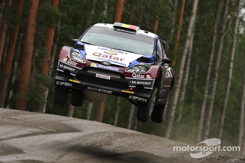 Flying start for Qatar M-Sport in Finland