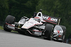 IndyCar Practice report Power back on top of the charts to lead Team Penske during Friday at Mid-Ohio