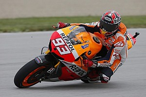 MotoGP Qualifying report Marquez dominates and smashes pole position record at the Brickyard
